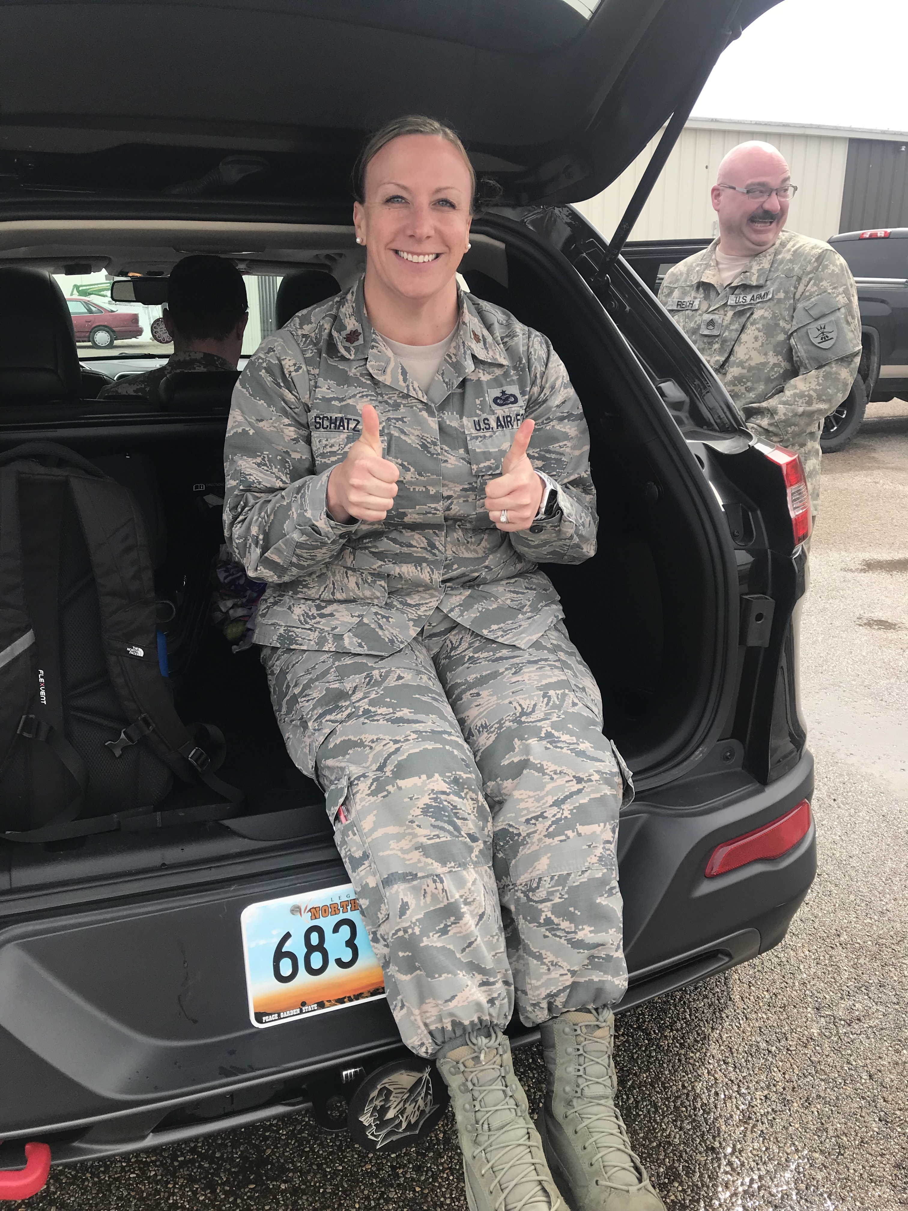 ND ARNG Major Amber Schatz